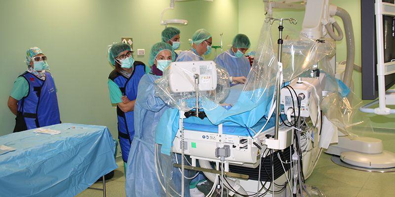 El Hospital Virgen de la Luz de Cuenca incorpora la Hemodinámica Cardiaca a su cartera de servicios y realiza los primeros cateterismos