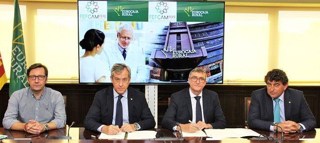Eurocaja Rural proporciona 100 millones de euros a los empresarios farmacéuticos de CLM