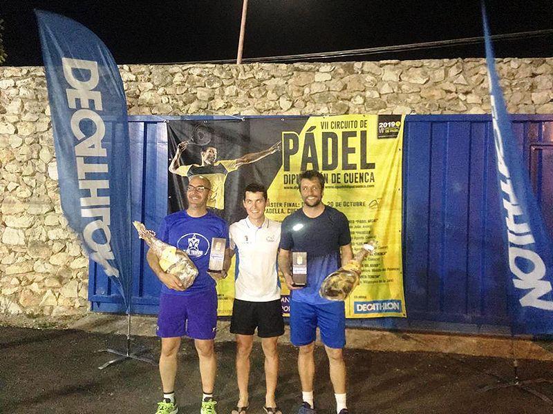 Las parejas Madrid-Mayorga y Pérez González ganan en Horcajo la cuarta prueba del VII Circuito de Pádel
