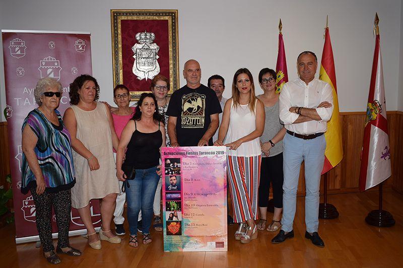 Los conciertos de las fiestas de Tarancón serán benéficos a favor de las asociaciones asistenciales