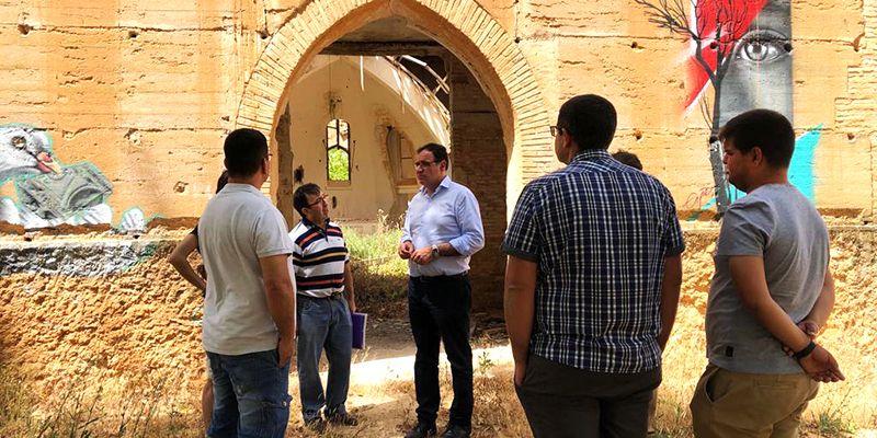 Prieto ve en la rehabilitación del Palacio de los Gosálvez un elemento importante para la comarca de La Manchuela