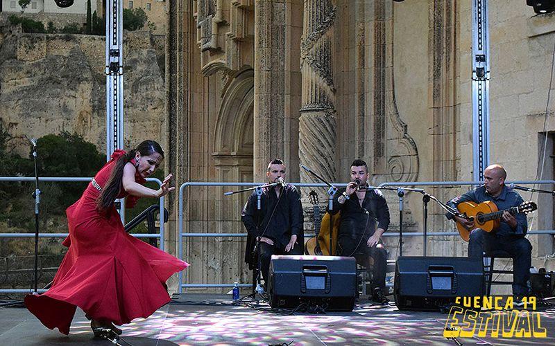 Rocío Márquez corona la noche flamenca de Estival Cuenca
