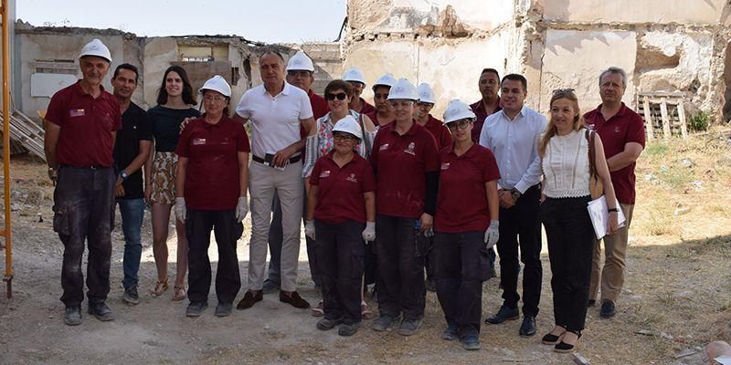 Un Taller de Empleo del Gobierno regional permitirá culminar la rehabilitación de la Casa de Piedra de Tarancón