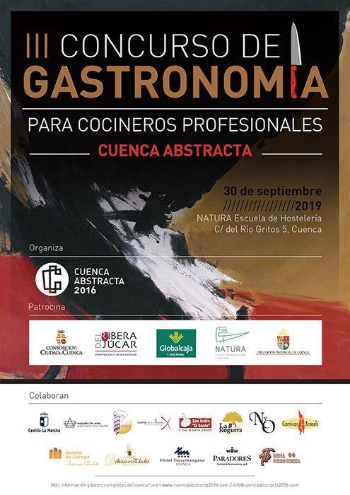 """Ya está en marcha el III Concurso de Gastronomía """"Cuenca Abstracta"""" para cocineros profesionales"""