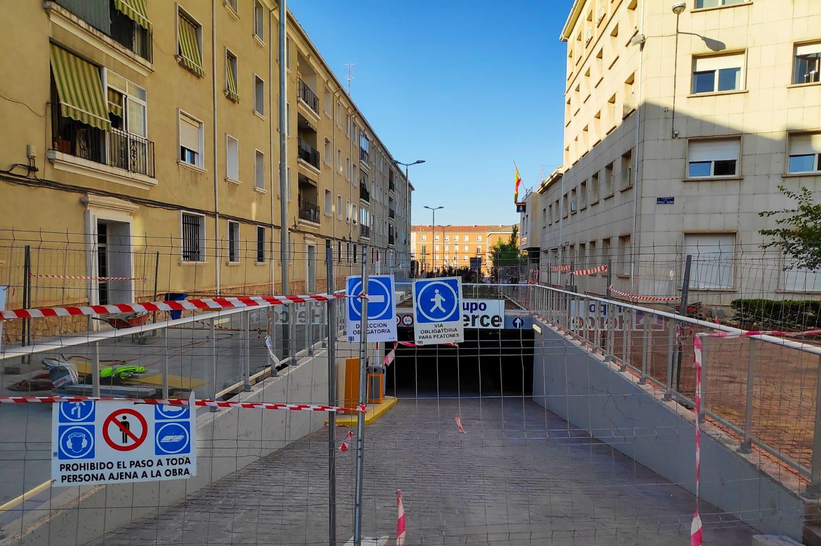20190802 np gmp plazas cnp parking | Informaciones de Cuenca
