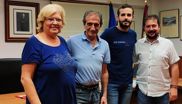 Borja Castro, alcalde de Alcocer, nuevo presidente de la mancomunidad de Aguas; Francisco Pérez Torrecilla, vocal en la Comisión de Explotación del Trasvase