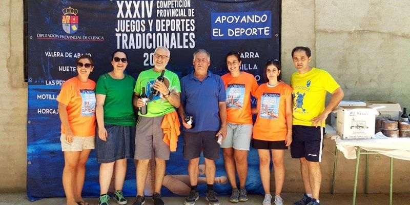 Brillante colofón a la XXXIV edición de la Competición Provincial de los Juegos y Deportes Tradicionales de Cuenca