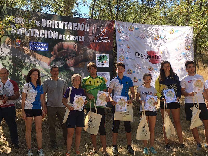 El Trofeo SOC pone el broche de oro a una semana de orientación en la provincia de Cuenca