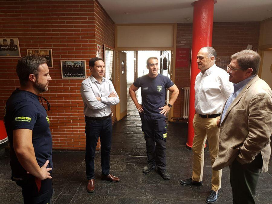 La Diputación de Cuenca considera prioritario aumentar el servicio de bomberos