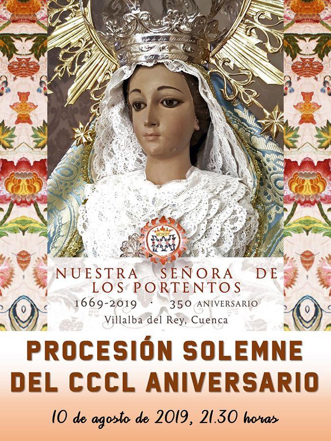 La JdC y varias hermandades representarán a Cuenca en la procesión Jubilar de Ntra. Sra. de los Portentos