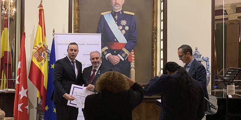 El abogado natural de Tribaldos, Pedro Albares Castejón, vuelve a recibir un nuevo Premio Europeo por la excelencia y la Calidad en sus servicios jurídicos