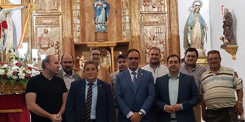 """El alcalde de Hontanaya pide a la Diputación que siga invirtiendo en patrimonio, """"y en los pueblos pequeños con más razón"""""""