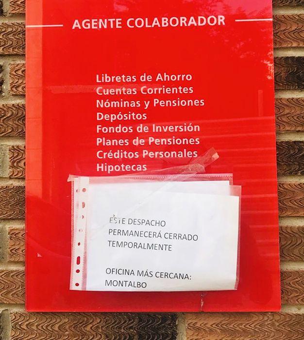 El alcalde de Villarejo de Fuentes alerta sobre la disminución de servicios en los pueblos pequeños y su repercusión negativa en la pérdida de habitantes