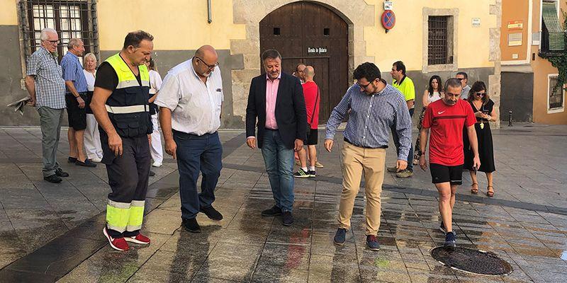 El Ayuntamiento de Cuenca utilizará de forma novedosa un sistema antideslizante de cara a la suelta de vaquillas