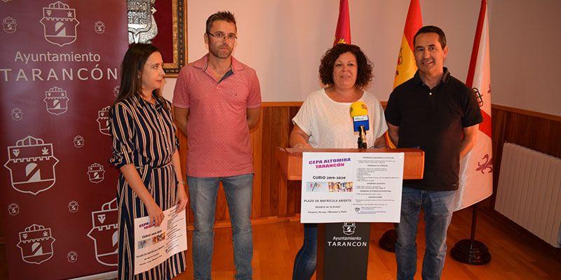 El Ayuntamiento de Tarancón destaca el papel del Centro de Adultos ´Altomira´ en la formación como fórmula para mejorar las condiciones laborales