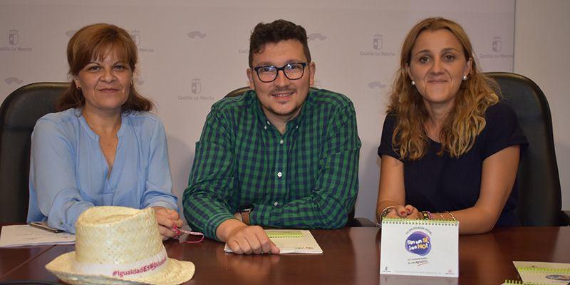 El Gobierno regional y el Ayuntamiento de Cuenca llevarán la campaña ¡Sin un sí, es no! a las fiestas de San Mateo para la prevención de agresiones sexuales