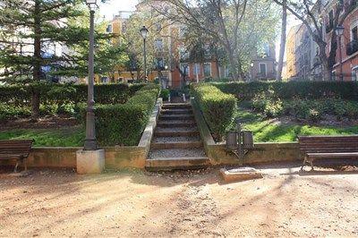 El jardinillo de El Salvador se abre al público tras las obras realizadas