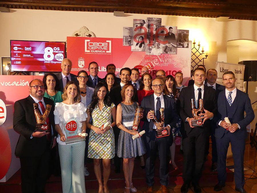 El próximo 26 de septiembre se entregarán, en el Parador de Cuneca, los IX Premios AJE Joven Empresario