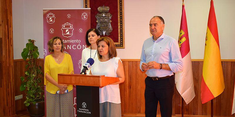 La Junta llevará la campaña ¡Sin un sí, es no! a las fiestas patronales de Tarancón
