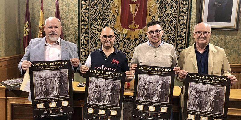 """Más de 150 personas participarán este fin de semana en """"La Cuenca Histórica"""", recreación de la toma de la ciudad por Alfonso VIII"""