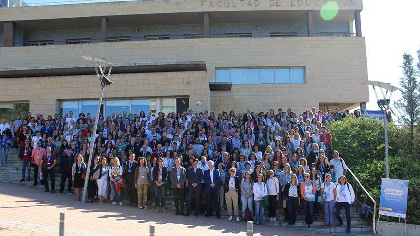 Más de 500 docentes españoles se citan en el Campus de la UCLM en Cuenca en unas jornadas de formación en proyectos de intercambio
