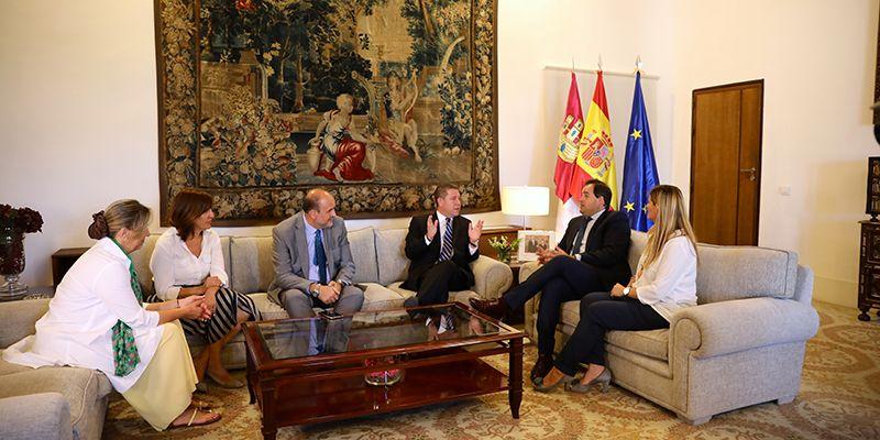 Núñez anuncia un acuerdo con el Gobierno regional para convocar la Mesa Regional por el Agua como viene reclamando el PP-CLM