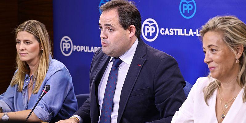 """Núñez recuerda que está disponible """"hasta el último minuto"""" para conformar un frente común junto a Ciudadanos con el fin de evitar el gobierno socialista de Pedro Sánchez"""