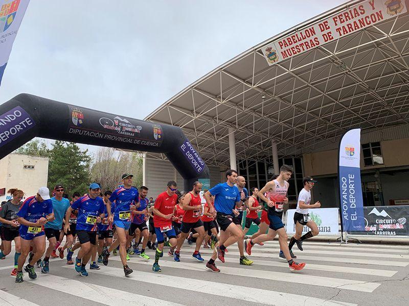 Santiago de la Torre y María Jesús Algarra vencen en Tarancón en el V Circuito de Duatlón y Carreras de Montaña de la Diputación de Cuenca