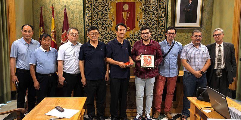 Una delegación china conoce la experiencia de Cuenca en materia de reciclaje
