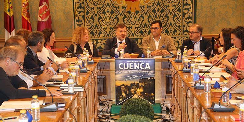 Una treintena de ciudades españolas de la Red de Ciudades AVE se dan cita en Cuenca