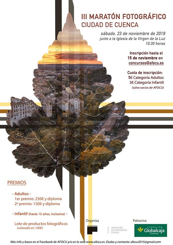 AFOCU celebra el III  Maratón Fotográfico Ciudad de Cuenca