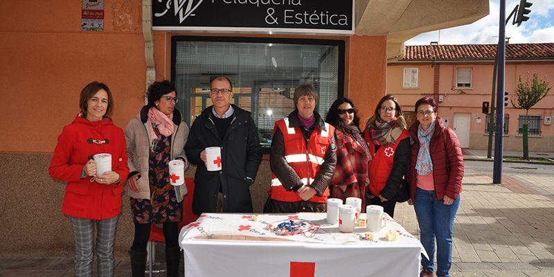 CEOE-Cepyme Cuenca colabora un año más con la cuestación del Día de la Banderita de Cruz Roja