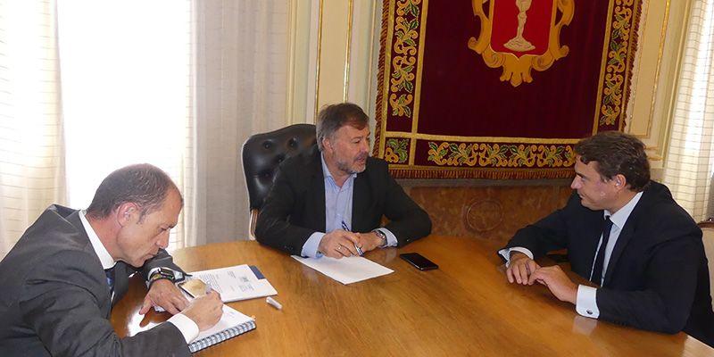 CEOE-Cepyme Cuenca y Dario Dolz coinciden en la importancia de facilitar la atracción de inversiones a la ciudad