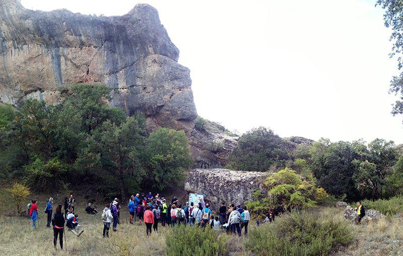 Cuencleta recorre más de ocho kilómetros de la Hoz de San Miguel