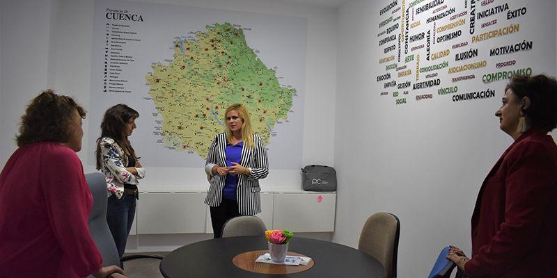 El Gobierno regional destaca el trabajo de los profesionales de los servicios SEPAP Mejorate-T en Cuenca
