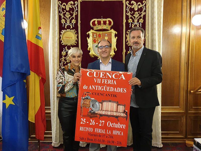 El recinto de la Hípica acoge este fin de semana la séptima Feria de las Antigüedades de Cuenca