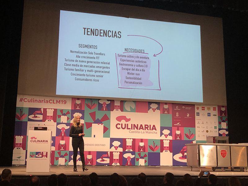Eva Ballarin Autenticidad y hospitalidad son las bazas con las que debemos jugar para proyectar Castilla-La Mancha como destino de turismo gastronómico