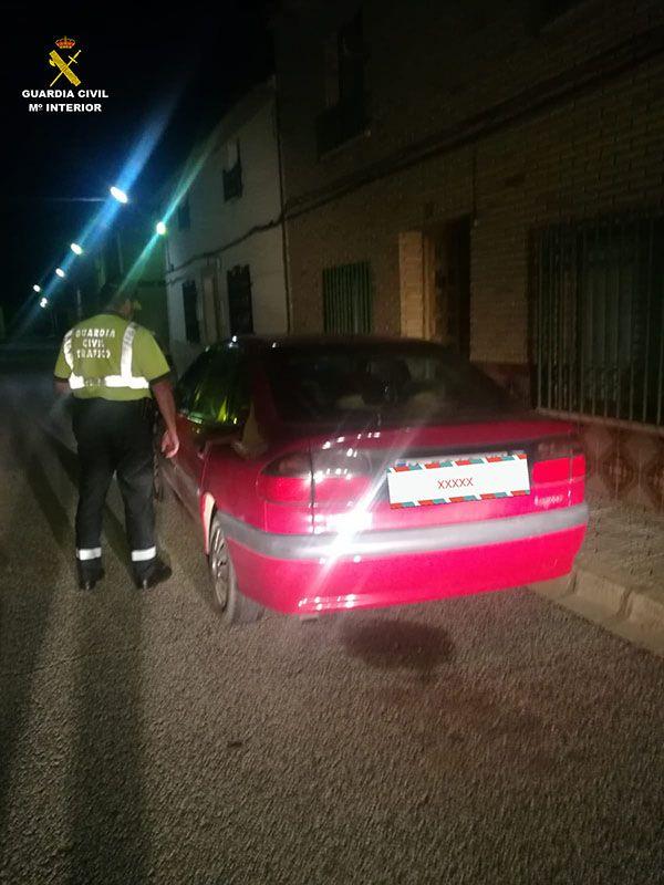 La Guardia Civil detiene a una persona conduciendo bebido y con el carnet retirado en contradirección en la AP-36