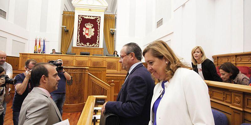 """Las Cortes de Castilla-La Mancha exigen la presencia """"real y efectiva"""" de los ribereños en la Comisión del Trasvase del Tajo"""