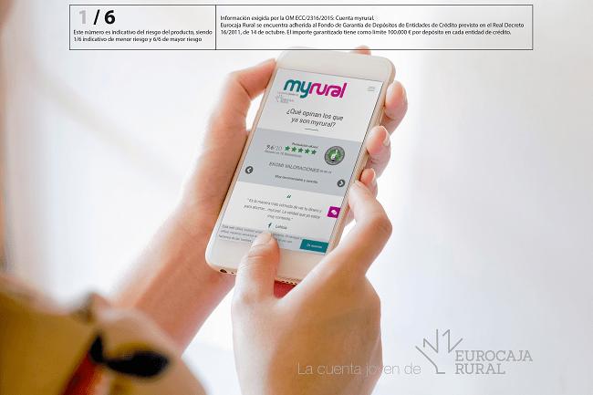 'myrural' de Eurocaja Rural, la cuenta que muestra las opiniones de sus usuarios
