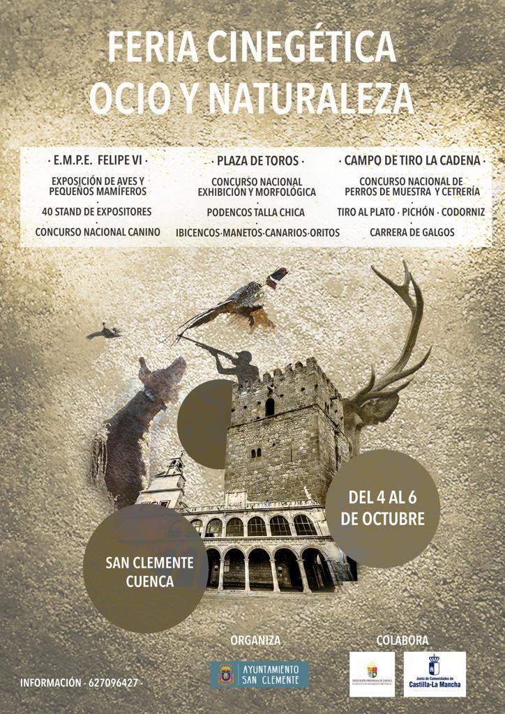 San Clemente acoge la I Edición de la Feria Cinegética, Ocio y Naturaleza