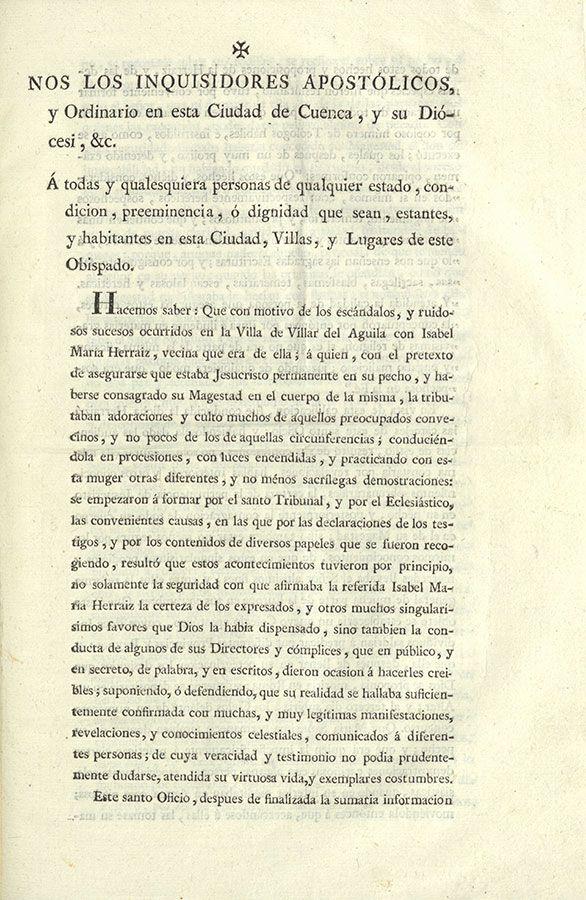 Adelina Sarrión analiza en la RACAL la figura de la beata de Villar del Águila