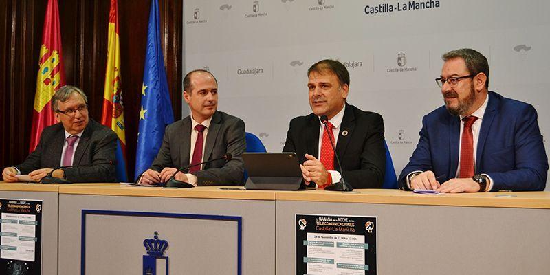 Castilla-La Mancha es la región que más crece en cobertura 4G y en fibra óptica