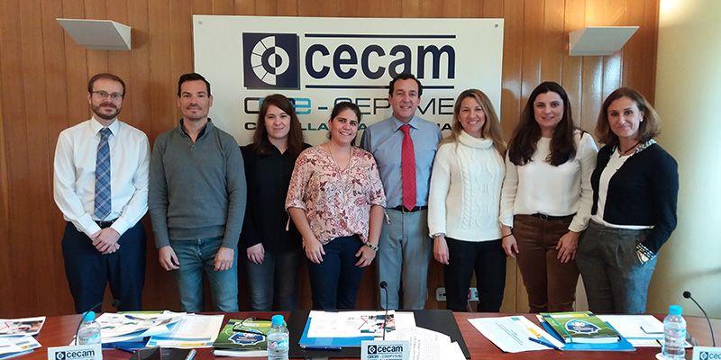 CECAM y CREEX ponen en común sus propuestas en materia de prevención de riesgos laborales para las empresas