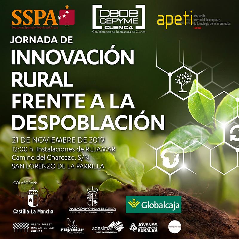 CEOE-Cepyme Cuenca organiza este jueves una jornada de innovación rural frente a la despoblación