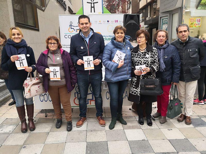 Cocemfe Cuenca presenta el Símbolo Internacional de la Discapacidad Orgánica