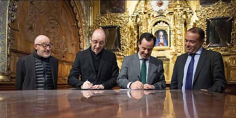 El Cabildo de la Catedral de Cuenca y el Museo de Semana Santa se unen para potenciar la difusión de la Pasión