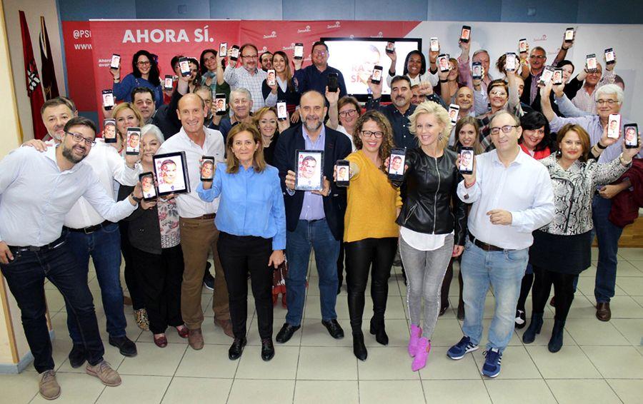 El PSOE de Cuenca arranca la campaña con una pegada virtual de carteles