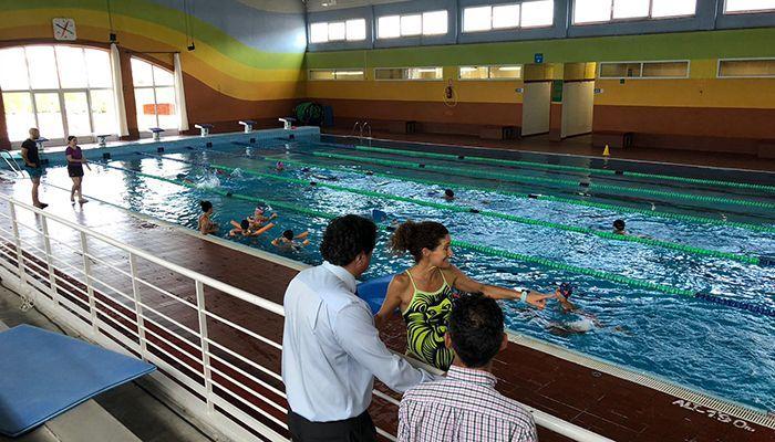 Este lunes se abre la piscina 'Luis Ocaña' y se inician las Escuelas Deportivas Municipales acuáticas