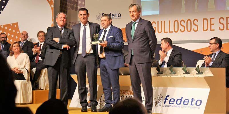Eurocaja Rural resalta el compromiso, la pasión y la determinación de los empresarios en los XXIII Galardones Empresariales Fedeto